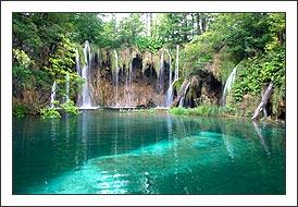 Naturpark Plitvicer Seen in Koratien